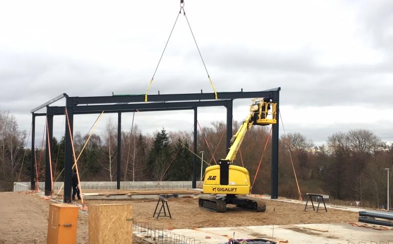 Bau einer neuen Niederlassung in Wismar/Steffin