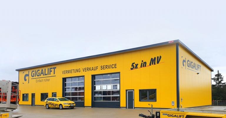 Neue Niederlassung in Wismar/Steffin