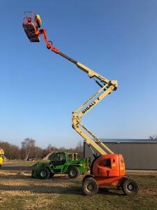 Industrie-Gelenk-Arbeitsbühne JLG 450 AJ Serie 2 (30107)